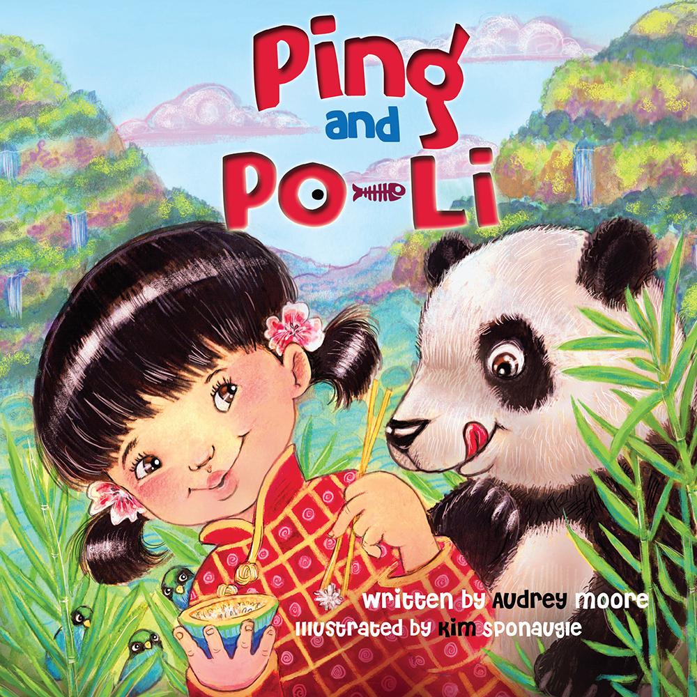 Ping & Po-Li by Irish children's author Audrey Moore