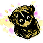 Loris from Ping & Po-Li: Rainforest Rescue by Irish author Audrey Moore