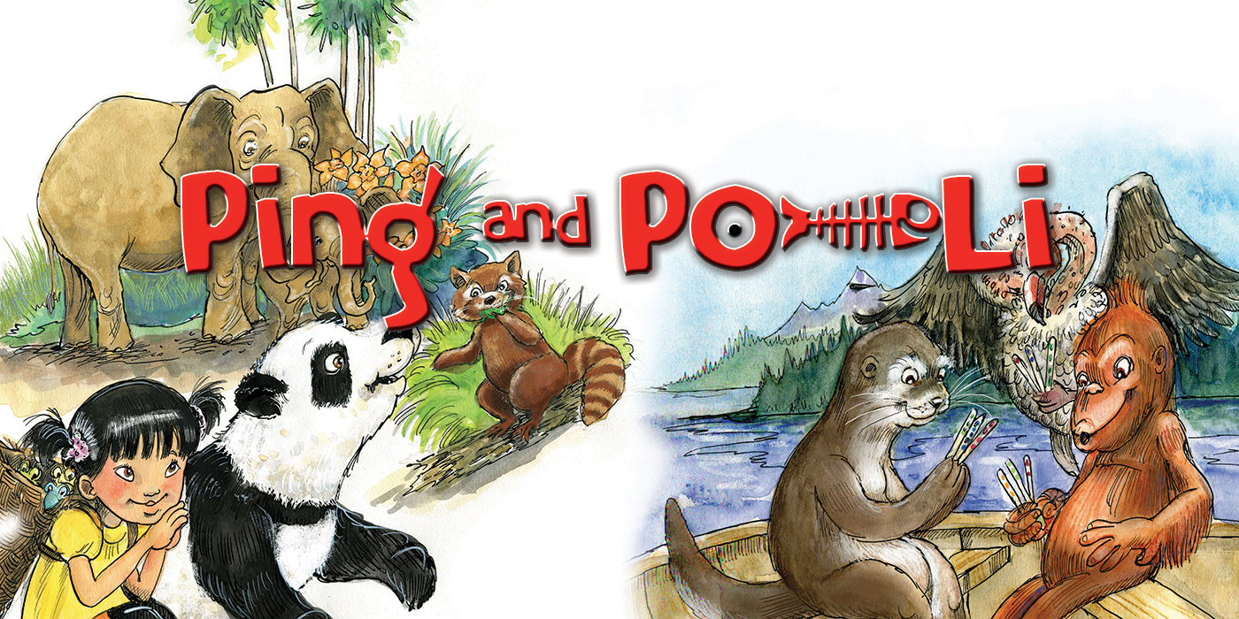 Ping & Po-Li by Audrey Moore