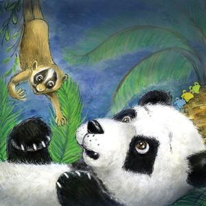 Ping & Po-Li Rainforest Rescue by Irish author Audrey Moore