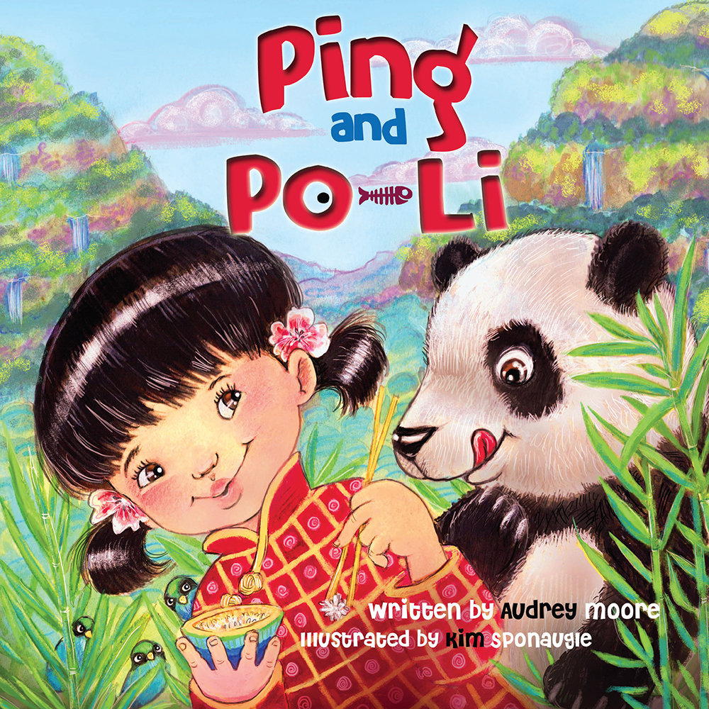 Ping & Po-Li by Irish children's author Audrey Moore