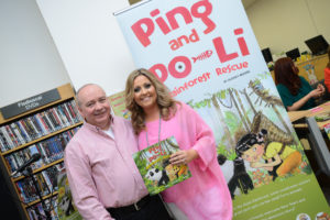 Ping & Po-Li Rainforest Rescue by Audrey Moore Book Launch