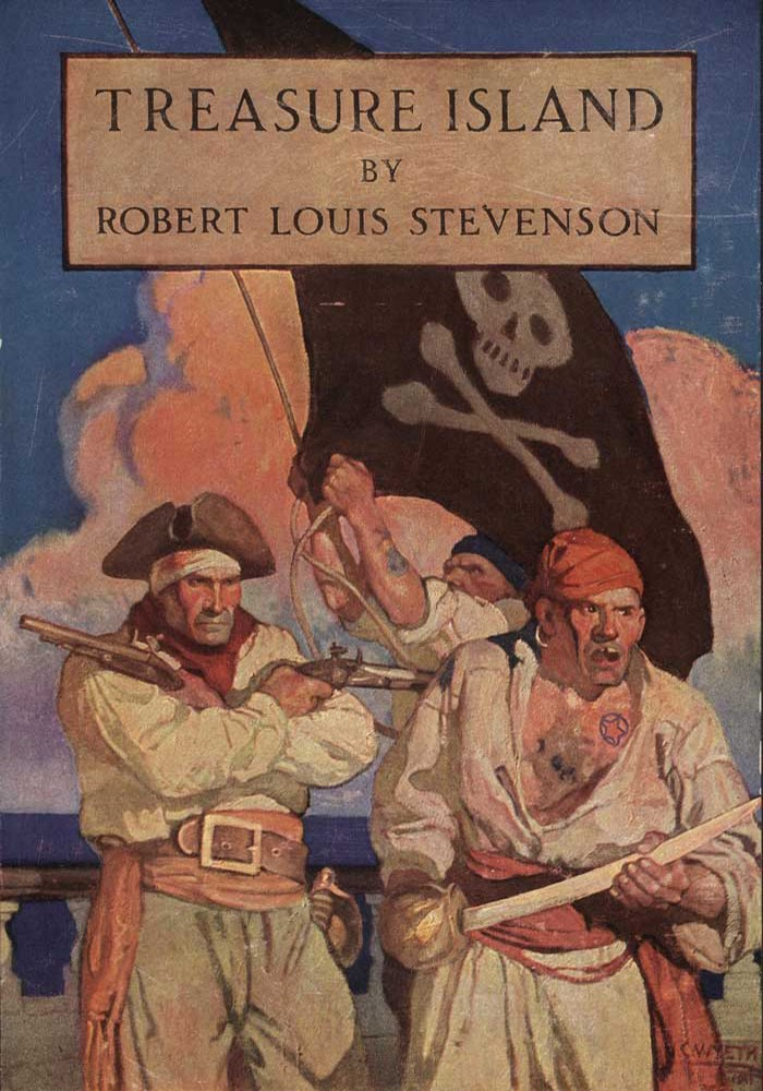 Treasure Island by Robert Louis Stephenson